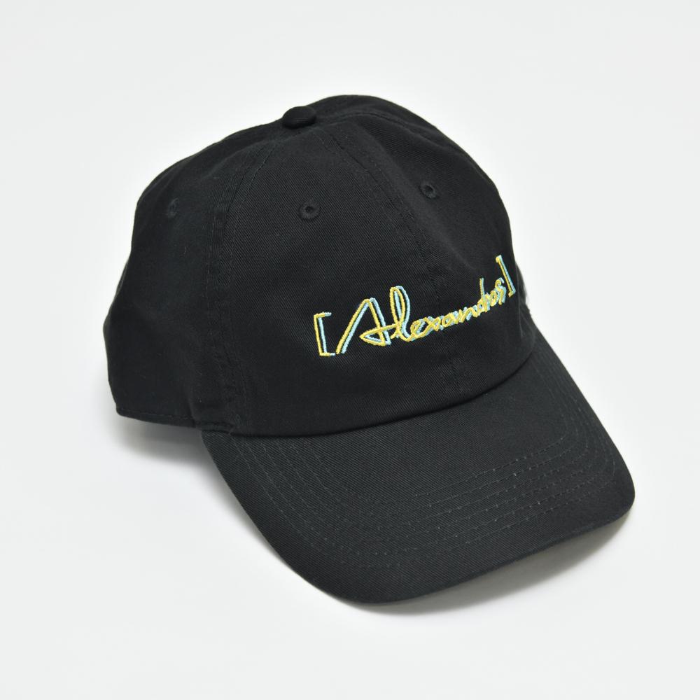 Glitch Logo Cap(Black)