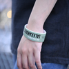 Ticket Rubber Wrist Band(online_limited_green)