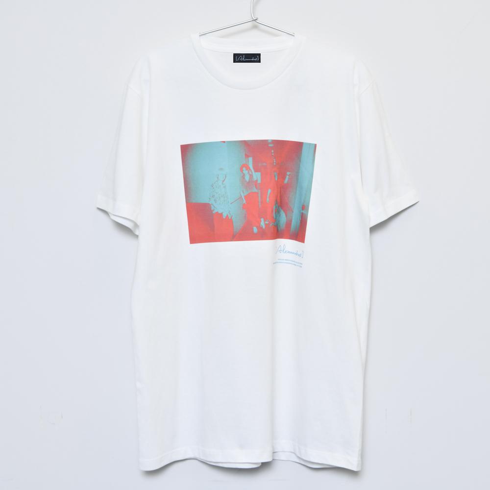 Inverted Photo T-shirt(White)