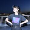 Inverted Photo T-shirt(Black)