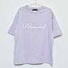Logo Oversized T-Shirt(Smokey Purple)