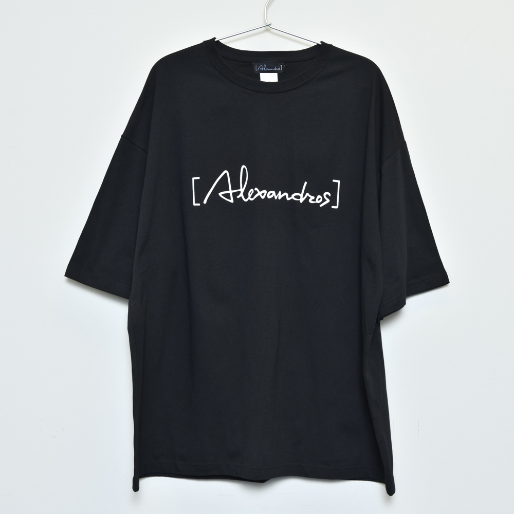 Logo Oversized T-Shirt(Black)