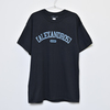Vintage Style T-Shirt(Black×Blue)