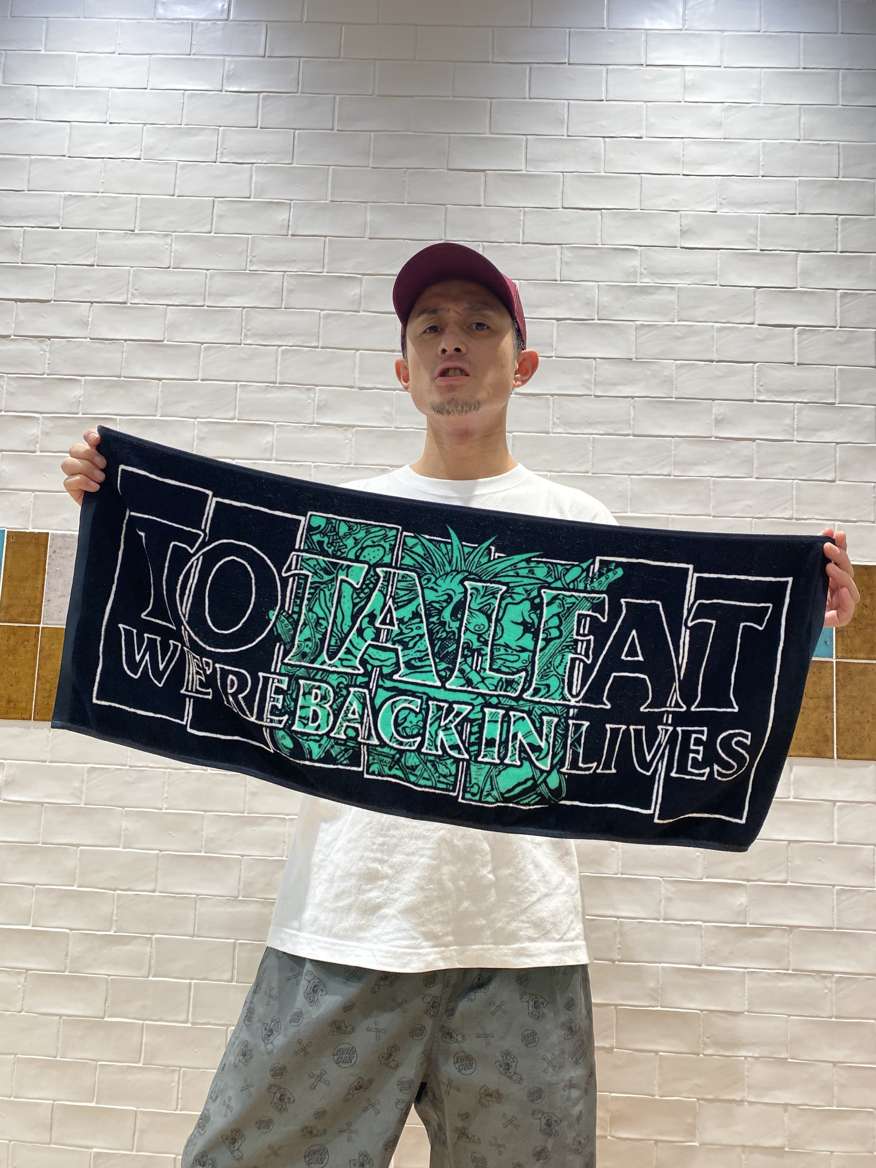 WE'RE BACK IN LIVES Tour Towel
