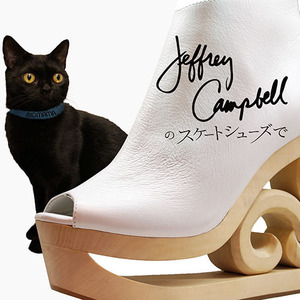 Single「Jeffrey Campbellのスケートシューズで」