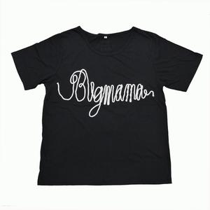A KITE ワイドTシャツ(ブラック×ホワイト)
