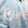 煩悩がちょっと浄化されたTシャツ(ポケット付き)(ブルー)