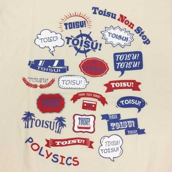 Toisu Non Stop Tシャツ(ナチュラル)