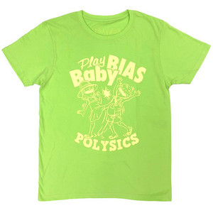 Play Baby BIAS Tシャツ(ライムグリーン)
