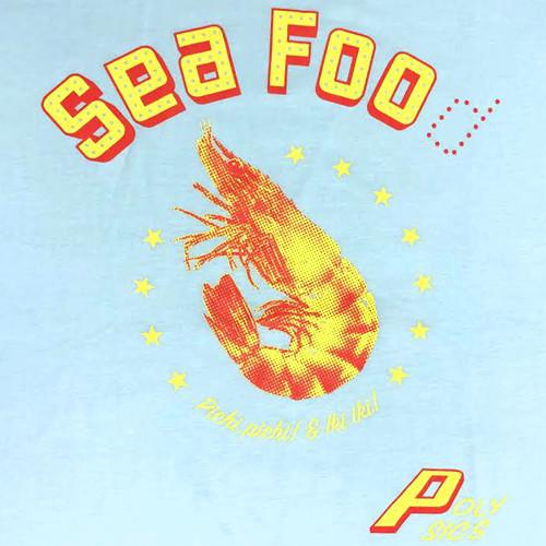 Sea Foo Tシャツ(シャーベットブルー)