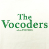 【The Vocoders】カフェロゴTシャツ(バニラホワイト)
