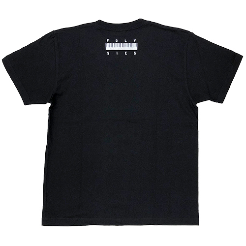 SynthesizerロゴTシャツ(ブラック)