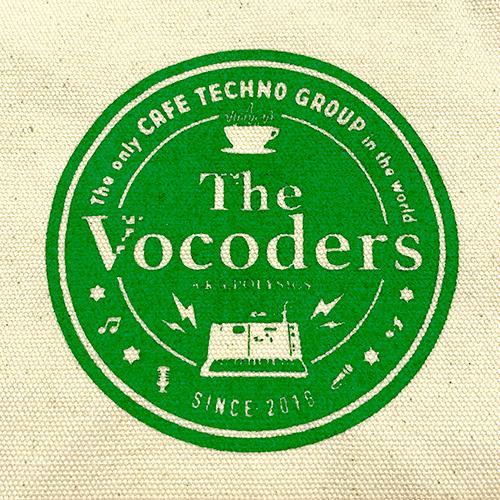 【The Vocoders】カフェロゴランチトート