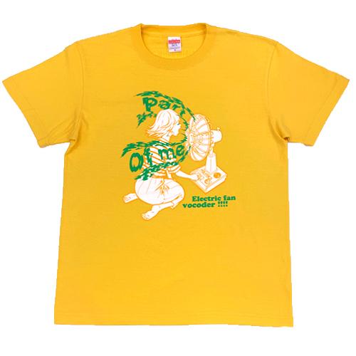 【POLYSICS/The Vocoders】その後の扇風機少女Tシャツ(バナナ)