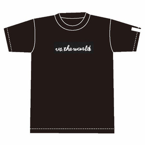 君と僕のTシャツ (黒×ホワイトリボン)
