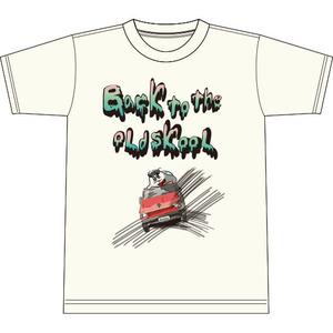 おーるどすくーるTシャツ(オフホワイト)