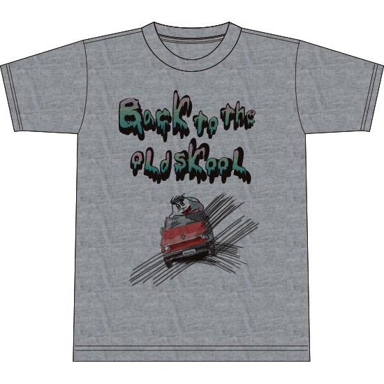 おーるどすくーるTシャツ(ヘザーグレイ)