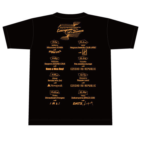 Everyone Let's Dance Tour Tシャツ