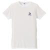 「COPYワンポイント刺繍Tシャツ」(白)