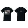 「delaidbackジャケットTシャツ」(黒)