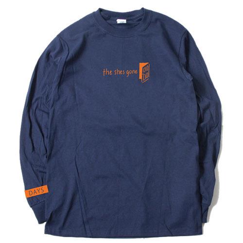 DAYS Long Sleeve T-shirt(ネイビー)
