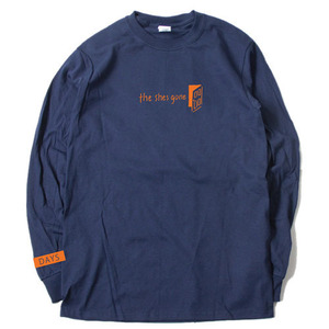 DAYS Long Sleeve T-shirt(ネイビー)