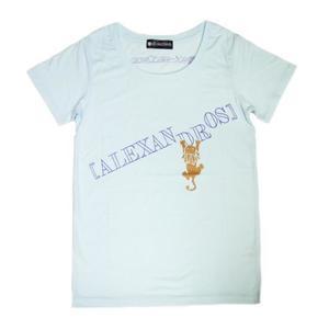 ライオンロゴTシャツ (ブルー)