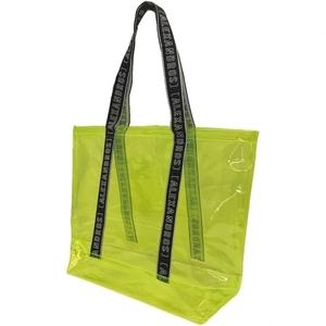 【SPECIAL PRICE】LOGO TAPE VINYL TOTE BAG (Yellow)