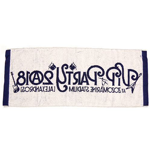 VIP PARTY 2018 LOGO FACE TOWEL (NAVY)