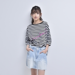 【SPECIAL PRICE】BORDER TEE (PINK)