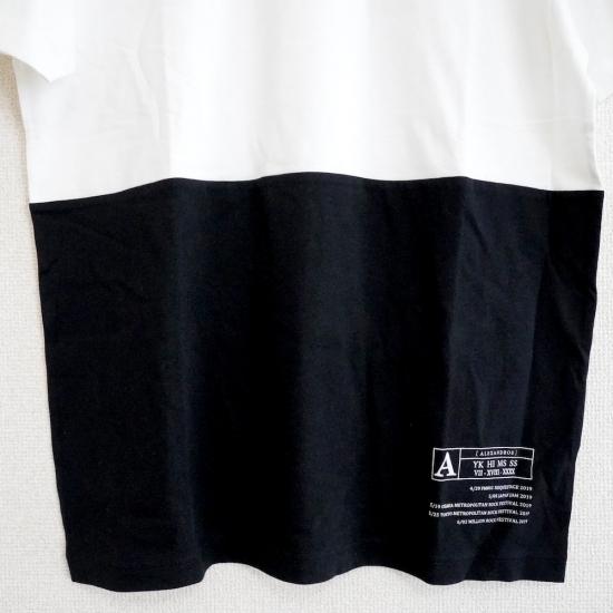 【SPECIAL PRICE】BI-COLOR TEE (BLACK/BEIGE)