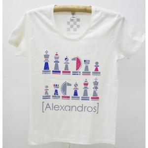 ロゴチェスTシャツ(オフホワイト)