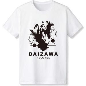 DAIZAWA RECORDSロゴTシャツ(ホワイト)