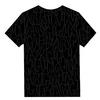 総柄Tシャツ(ブラック)