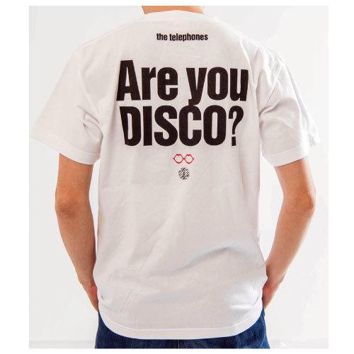 I am DISCO!!! Tシャツ(ホワイト)