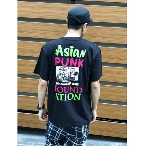 「ASIAN PUNK FOUNDATION」Tシャツ