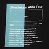 Sleepless in ASIA Tour TEE(BLACK)