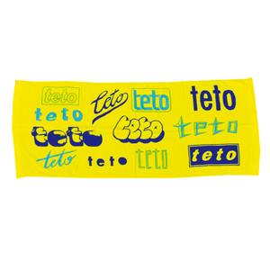 teto Towel ver.5(フェイス / イエロー)
