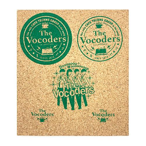 【The Vocoders】コースターキット