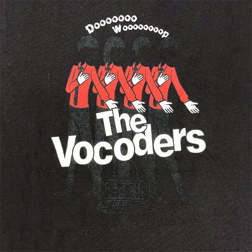 【The Vocoders】Doo-Wop Tシャツ スミ