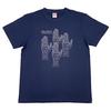 ポリゴントイスTシャツ (インディゴ)