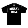 「CRUSH KILL DESTROY」Tシャツ(ブラック)