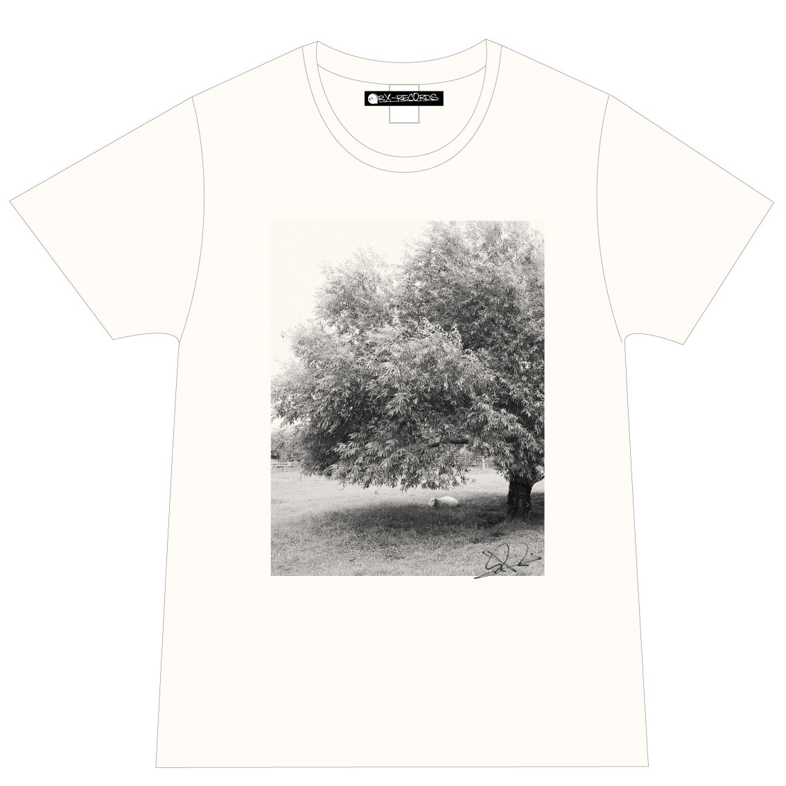 Photo Tシャツ(ナチュラル)