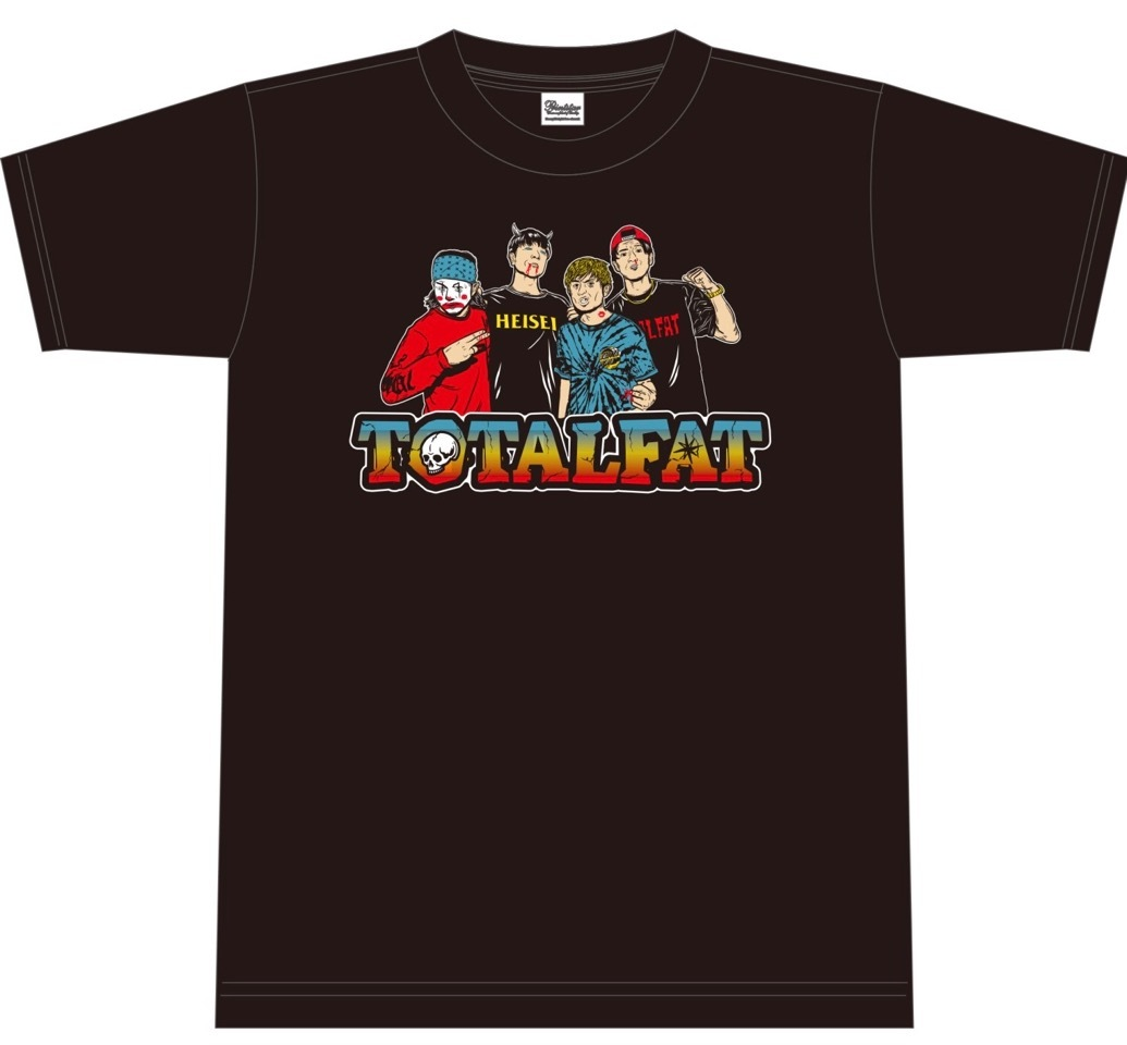 FLAMMABLE BAND Tシャツ
