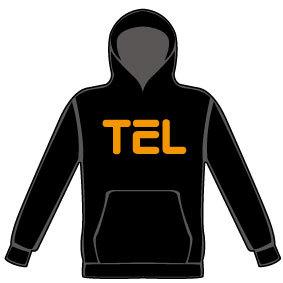 TEL パーカー(ブラック)