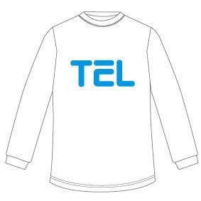 TEL ロンT(ホワイト)