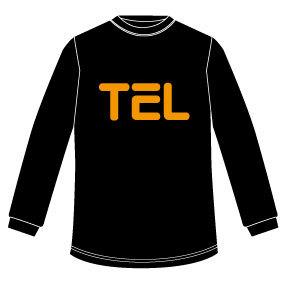 TEL ロンT(ブラック)