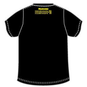 「メジャーデビュー10周年、まだやったことのないバンドと対バンするツアー(決)」TOUR Tシャツ(ブラック)