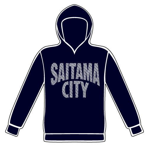 SAITAMA CITYプルオーバーパーカー(ヘザーネイビー)