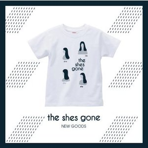 Shes T-shirt(ホワイト)